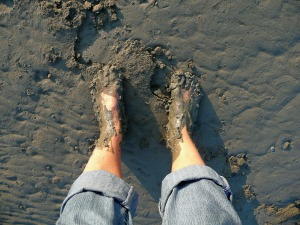 muddy feet 1