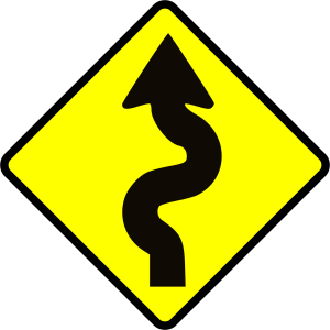 winding sign