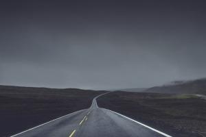 roadway dark