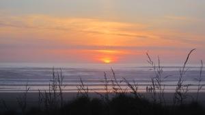 Ocean at sunset 2
