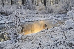 snowy-water